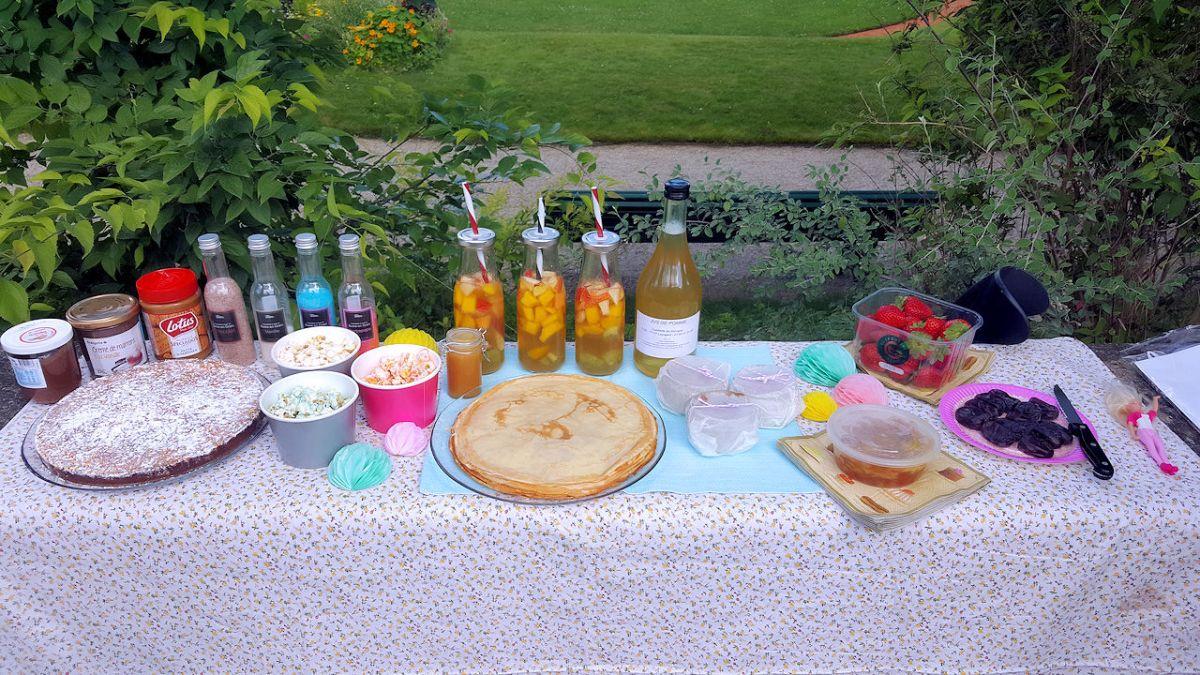 Pique-nique aux Serres d'Auteuil (Souvenirs d'été 2016)